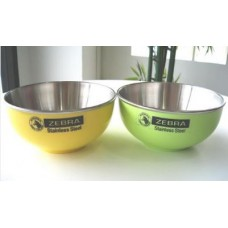 Green -Yellow Bowl 11cm