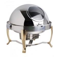Round Food Warmer Set