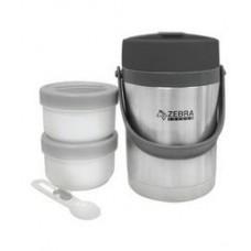 Zebra Vacuum Flask Vacuum Food 1.8lit
