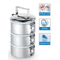 Food Carrier Smart Lock-14cmx3-4 tiers