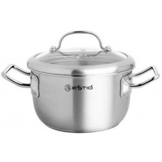 Sauce Pot with Glass lid Estio Pro 22-24cm