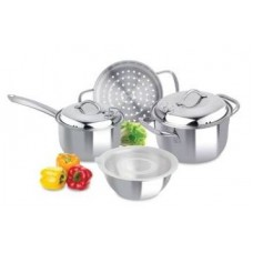 7 Pcs Cookware Set Zelect 185488