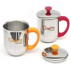 Double Wall Mug Giant (Stainless Lid)