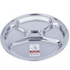 Round Compartment Tray
