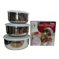 Zebra 6 pieces Food Storage